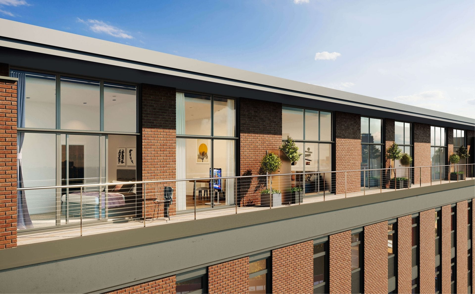 CopperBox Penthouse Balcony