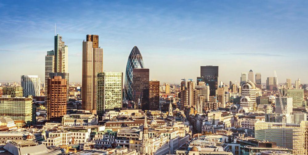 UK Property Investment London Skyline